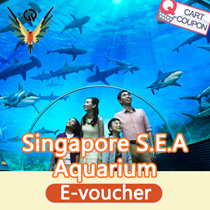 [VOUCHERS PROMOTION ]NET PRICE NO ADDONs S.E.A. Aquarium Singapore admission electronic tickets