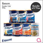 [Abbott]【Bundle of 2】Ensure Powder/ Life 850g – For Singapore market
