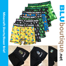 Minecraft Short Minecraft Boxer Brief