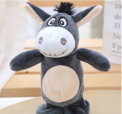 shop Talking Hamster Mouse donkey Pet Plush Toy Speak Talking Sound Record  Hamster Educational Toy f