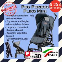 PegPeregoPliko Mini★New born to 20kg★adjustable footrest★Peeping window★height-adjustable handlebars