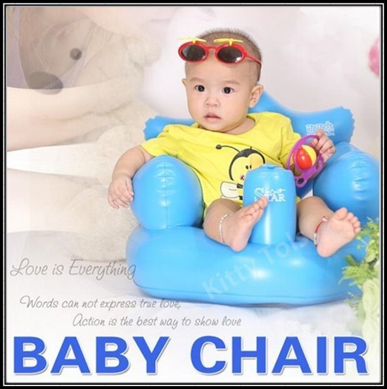 Baby Chair | Inflatable Sofa | Feeding Chair | Bath Chair | Safety Chair | Children Mini Toys Deals for only S$39.9 instead of S$39.9