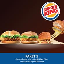 [FOOD] Crispy TC + KCF+Mozza King Chicken Fillet /Burger King