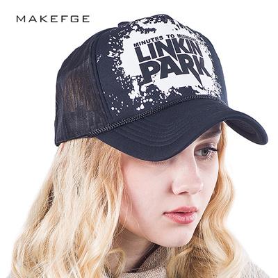 2018 Summer Baseball Mesh Cap Chester Linkin Park Rock Snapback Dad Hat  Fashion hats Trucker Hat