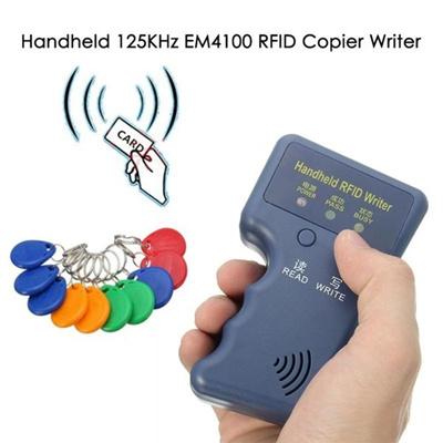 1 PC USB Handheld Keys Id card tool 125KHz EM4100 RFID Copier Writer  Duplicator Programmer Reader (
