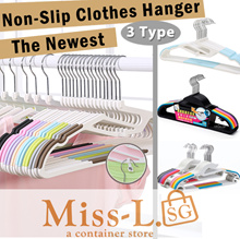 20pcs-Non-Slip Clothes Hanger/Heavy Non-Slip-20pcs/Prevent Deformation/3 types/many color!