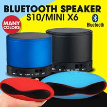Speaker Bluetooth S10 / Mini X6 - (Qualitas Jempolan)