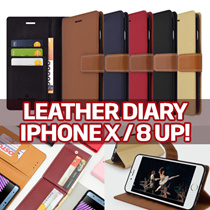 Leather Diary Wallet Case★iPhoneX/8/7/6/S/Galaxy S8/Plus/S7/Edge/S6/Note8/5/4/3/A5/A7/2017/J7 Prime