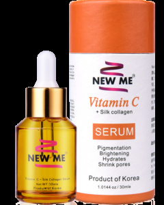 [SHOCKING DEAL] NEW ME™ Vitamin C + Silk Collagen Serum --- FREE SHIPPING TO WHOLE MY