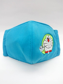 LIMITED EDITION KIDS FACE MASK CLOTH 1 PIECE DORAEMON