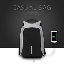 15.6 Laptop Backpack External USB Charge Computer Backpacks/ Anti-theft/Waterproof Bags