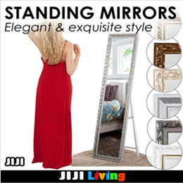 75b2f1231924 ☆Standing Mirror ☆Movable☆Full length mirror☆Classic ☆Tall mirror ☆  Exquisite