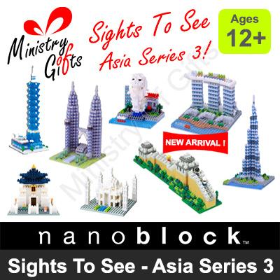 Marina Bay Sands Building Kit nanoblocks Nbh123 Nb