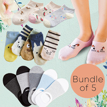 Crazy Sale★Flat Price + Free Shpg★Men Women Socks Bundle★Cheapest★Best Quality★Korean Jap Design