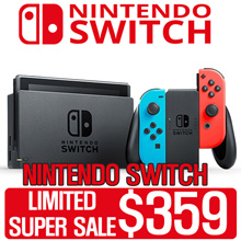 [$359 SUPER WEEKEND DEAL!] Nintendo Switch Console Super Bundle
