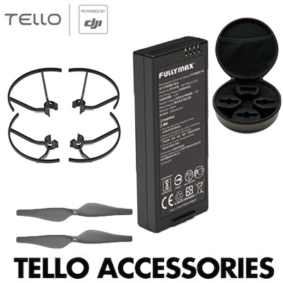 ★100% Authentic★DJI Tello Accessories★Flight Battery★Quick release  propeller ★Propeller Guard★Bag