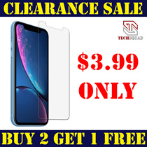★BUY 2 GET 1 FREE★$3.99 FIXED PRICE★TEMPERED GLASS PROTECTOR IPHONE XS MAX/XS/XR/X/8/7
