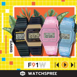 [CHEAPEST PRICE IN SPORE] *CASIO GENUINE* F91 F94 Digital Watches! Free Shipping!
