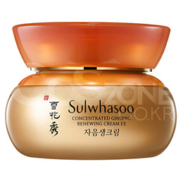 [Cosmetic Sample] Sulwhasoo Concentrated Ginseng Renewing Cream EX 15mlx1ea