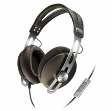 Sennheiser Momentum [Black IOS]  - Around Over-Ear Stereo Audio Headphones. Local Stocks !