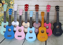 [Many Sold]21 inches Ukelele Good String Good Sound Quality Adjustable knob Easy learning For Kids