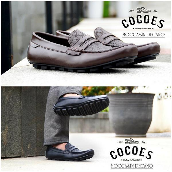 Collection Cocoes Mocassin Size 39-43 / bahan kulit asli. Deals for only Rp235.000 instead of Rp235.000
