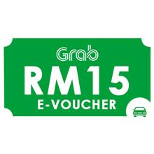 Grab E-Vouchers RM15