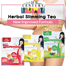 [BUY 2 GET 1 FREE] 21st Century Herbal Slimming Tea with Garcinia Cambogia and Gymnema Sylvestre
