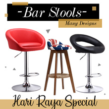 HARI RAYA SPECIAL! ★Bar Stools | Chairs ★Ergonomic ★Gaming Chair ★Certified SGS Hydraulic Pump