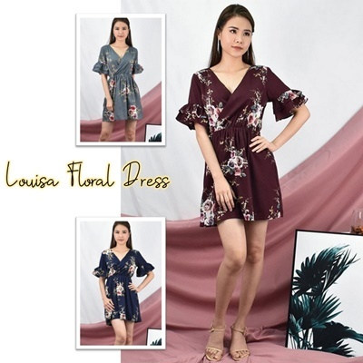 Louisa Floral Dress
