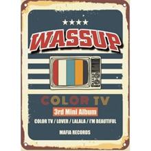 Musik WA $$ UP- [COLOR TV] Album Mini ke-3 Hip-Hop GirlGroup WASSUP K-Pop Disegel Mafia THT