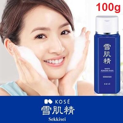 FEEL IT! SUPER SILKY SKIN! Kose Sekkisei White Powder Wash 100g