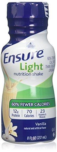 [USA]_Ensure Light Nutrition Shake Vanilla - 6 CT