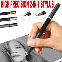 HIGH PRECISION STYLUS PEN♤2-in-1 Rubber grip/Clip♤iPad iPhone Samsung♤Adonit-style Digital Signature