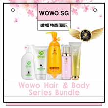 AUTHORIZED DISTRIBUTOR WITH QR CODE CERT* WOWO SHAMPOO HAIR CARE SERIES