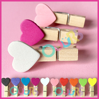 Memo search results qranking items now on sale at qoo10 coupon 15pcs heart shape mini wooden pegs l photo clips l memo l postcard l wedding party thecheapjerseys Gallery