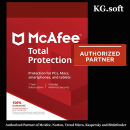 💖Authorised Partner💖 McAfee Total Protection 2019 for 1 / 3 / 5 / 10 or unlimited devices 1 year