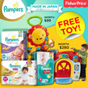 [PnG] 【FREE TOY!】Pampers® Premium Care Pants And Tapes Japan Stock | 5 Stars Skin Protection | Made in Japan Pampers Baby Dry Pants | Baby Dry Tapes Made in PH |