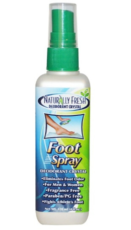 Naturally Fresh Deodorant Crystal Foot Spray 4 fl oz (120 ml)