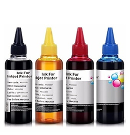 Refillable 100ml Universal Ink bottle for Inkjet printers Brother / Canon / Epson / Dell