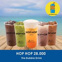 [DRINK] Hop Hop Value Voucher 28K /Hop Hop Bubble Drink