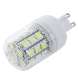 SG G9 5W 30 SMD 5050 LED Light Bulb Corn Light LED Lamp White 220V