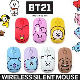 [JK-Commerce]★BT21 by BTS★Wireless Silent Mouse/ Noiseless Mouse/ Charming Design 마우스
