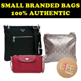 962a83a428987f Small Branded Bags ☆ 100% Authentic ☆ Prada and Other Assorted Brands ☆