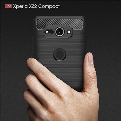 sony xperia xz2 compact case sony xz2 compact environmental carbon fiber  phone case sony xperia xz2