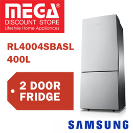 SAMSUNG RL4004SBASL 400L 2 DOORS REFRIGERATOR / FRIDGE / FREE GIFT BY AGENT / LOCAL WARRANTY