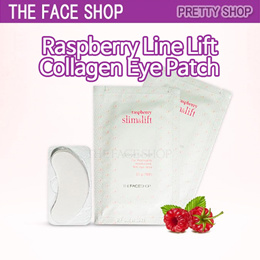 ★The Face Shop★[5pairs] Raspberry Line Lift Collagen Eye Patch