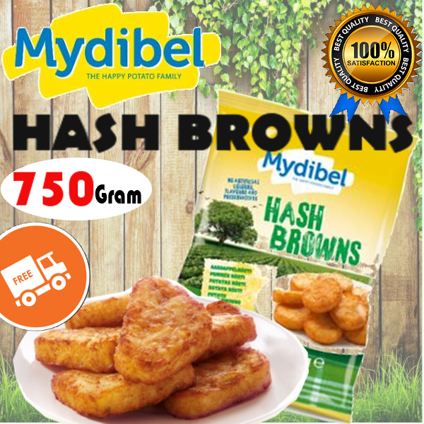 **Mydibel French Fries HASH BROWNS Deals for only Rp37.500 instead of Rp37.500