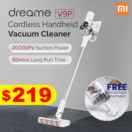 Xiaomi DREAME V9 Pro Cordless Vacuum Cleaner   20 000 Pa Suction Power   Long Battery Life
