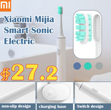 Xiaomi Mijia Smart Sonic Electric Toothbrush Bluetooth Wireless Charge Waterproof APP Control